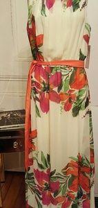 Eliza J floral maxi dress sz 10
